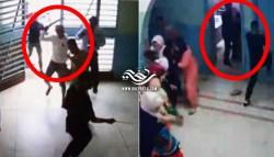 """بالفيديو : السيبة.. عصابة مدججة بالسيوف تهاجم """"مستوصف سلا"""" و""""تتحارب"""" داخل قاعات الفحص"""