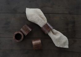 木製ナプキンホルダー ×4