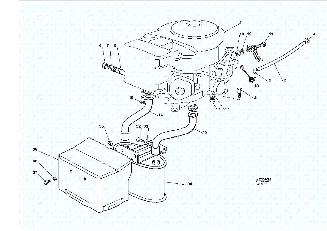 Ersatzteillisten Fur Solo Rasenmaher Motor Honda Gcv 530