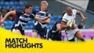 video rugby Sale Sharks v Bath Rugby - Aviva Premiership Rugby 2014/15