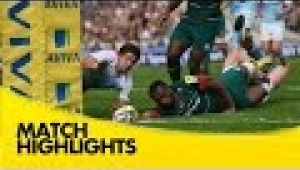 video rugby Leicester Tigers v Newcastle Falcons  - Aviva Premiership Rugby 2014/15