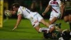 video rugby Northampton Saints vs Sale Sharks - Aviva Premiership Rugby 2013/14