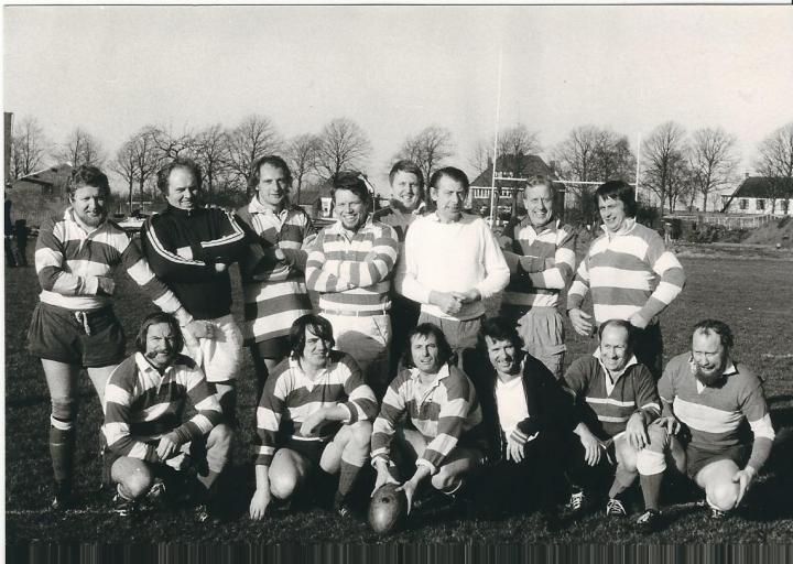 Rugby Club Hilversum: RCH - 't Gooi (3-2-1974)