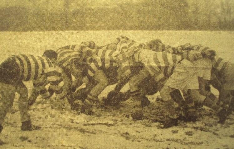 Rugby Club Hilversum - teamfoto (1962)