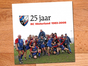 Seizoen 2007/2008: Jubileumboek 25 jaar Rugby Club Waterland