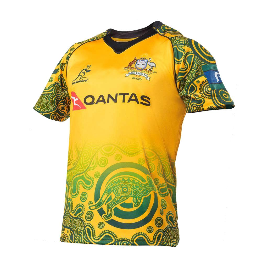 2017 australia wallabies indigenous jersey