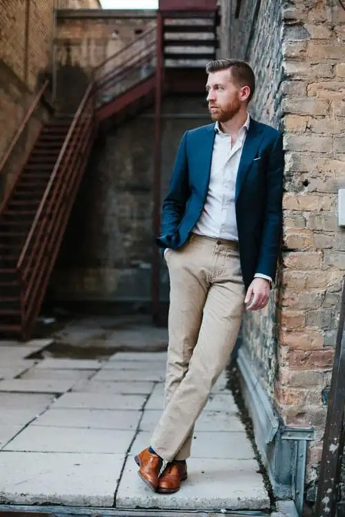What To Wear With A Navy Blue Blazer Rugged Fellows Guide