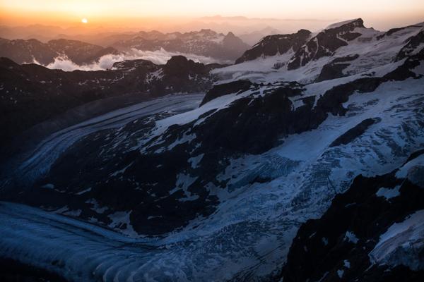 Biancograt, Piz Bernina