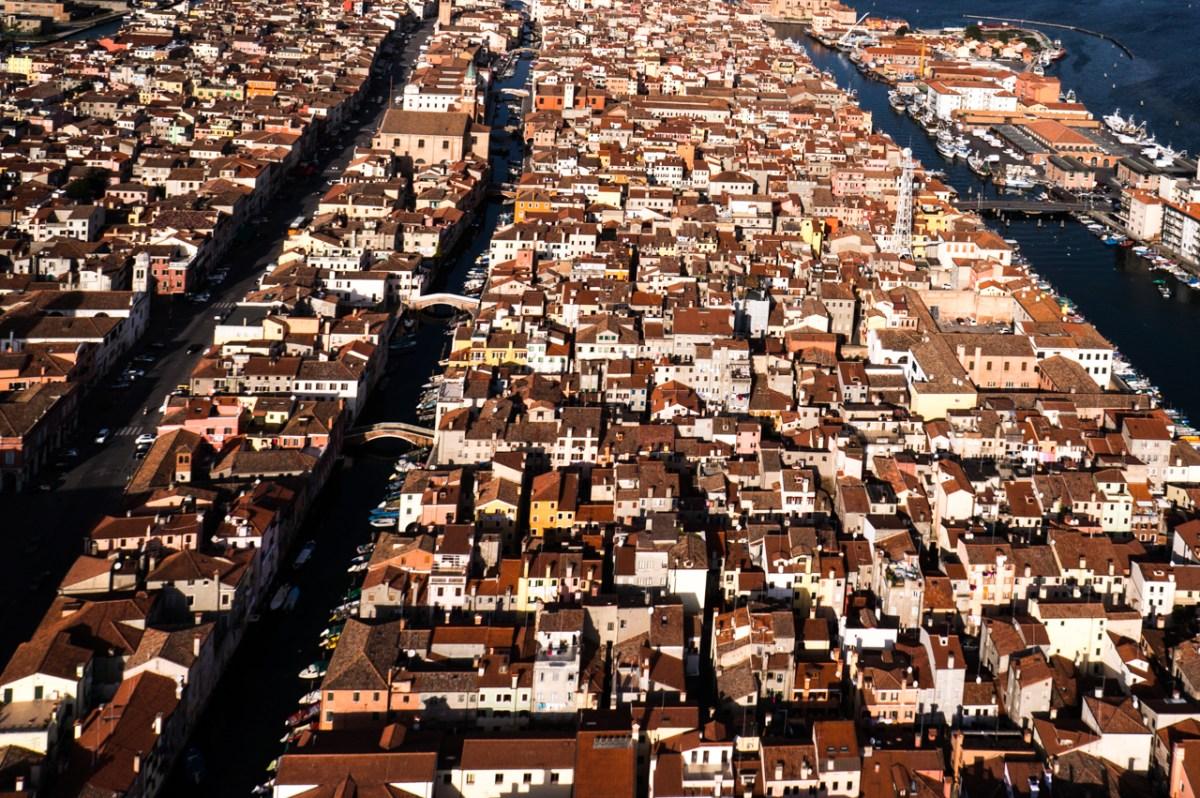 Chioggia from above
