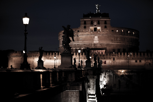 ancient Rome by night 1