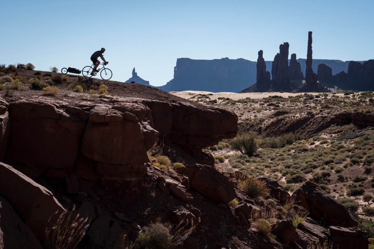riding monument valley