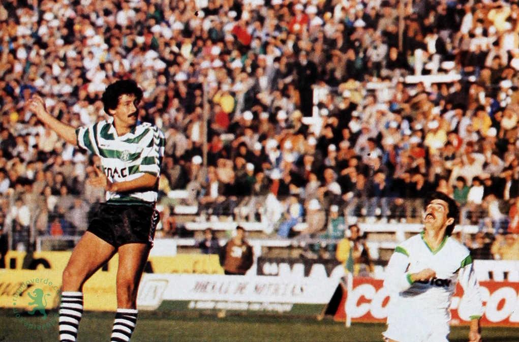 Entrevista a Duílio em Março de 1988: «Temos de acabar de uma vez por todas com o Sporting a correr apenas para a UEFA e para o terceiro lugar»