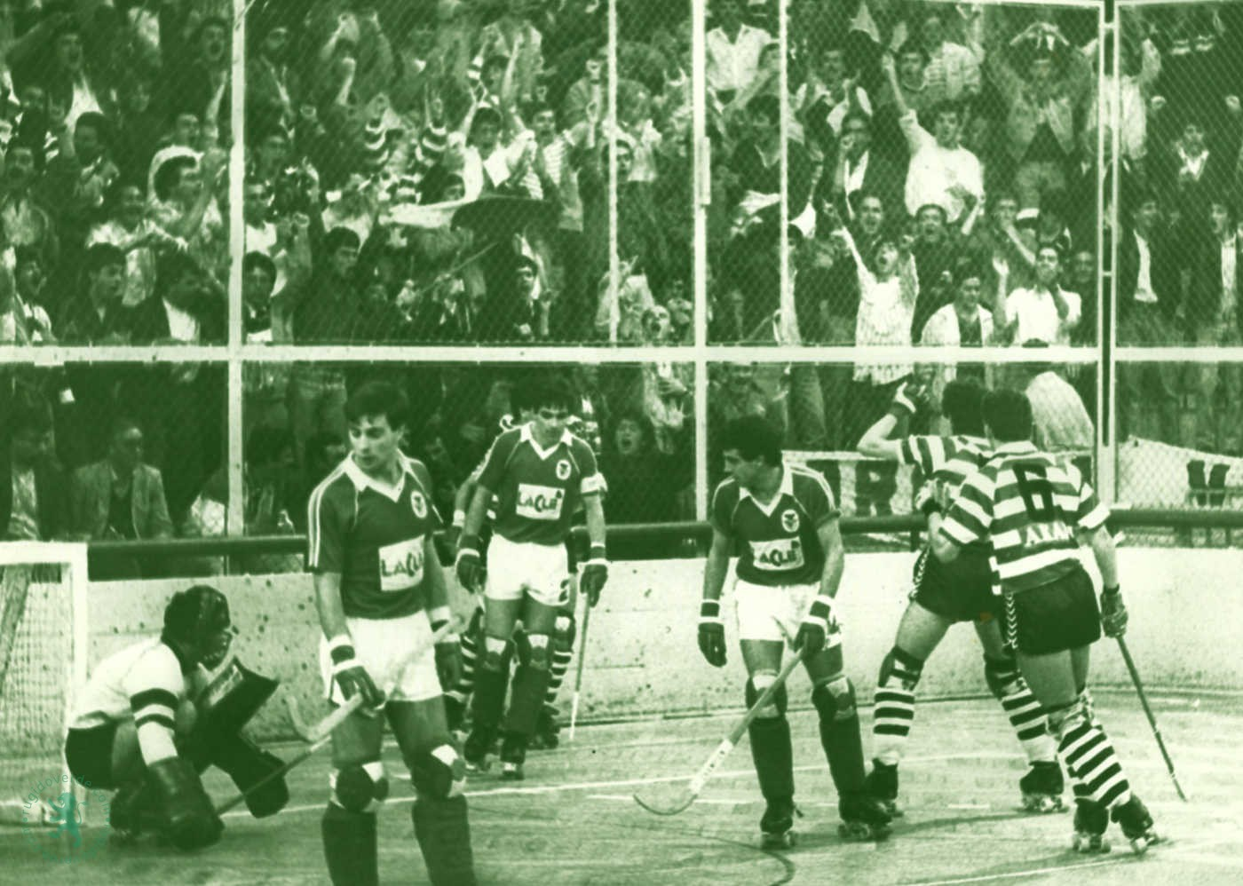 Neste dia… em 1988, o Sporting sagra-se Campeão Nacional de Hóquei em Patins no pavilhão do rival
