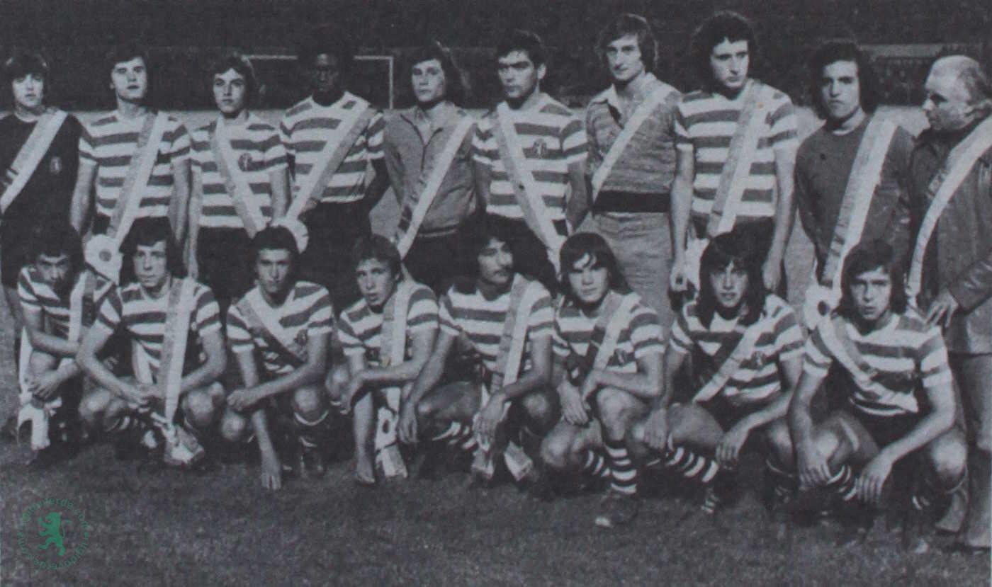Campeões de juvenis de 1976 homenageados