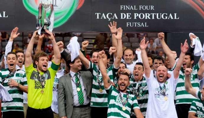 Neste dia… em 2013 – Sporting vence a Taça de Portugal em Futsal