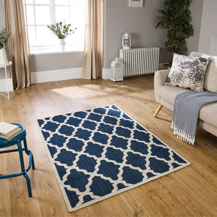 blue rugs for the kitchen with free uk
