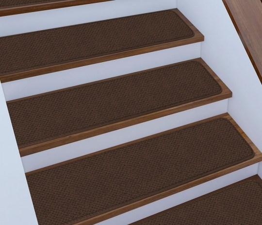 15 Skid Resistant Stair Treads 16 Colors 4 Sizes Rug Street | Outdoor Carpet Stair Treads | Stair Runner | Rug | Stair Nosing | Slip Resistant | Flooring