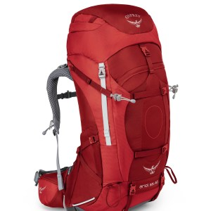 Osprey Ariel AG - Picante Red - 65 L - Small
