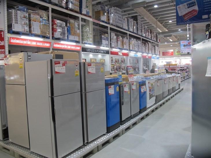 Makro Thailand Elektrogeraete Abteilung