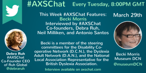 Becki Morris' Video Interview available on www.axschat.com
