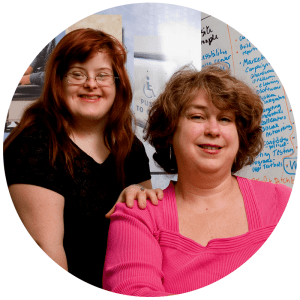 A Photograph of Debra and Sara Ruh