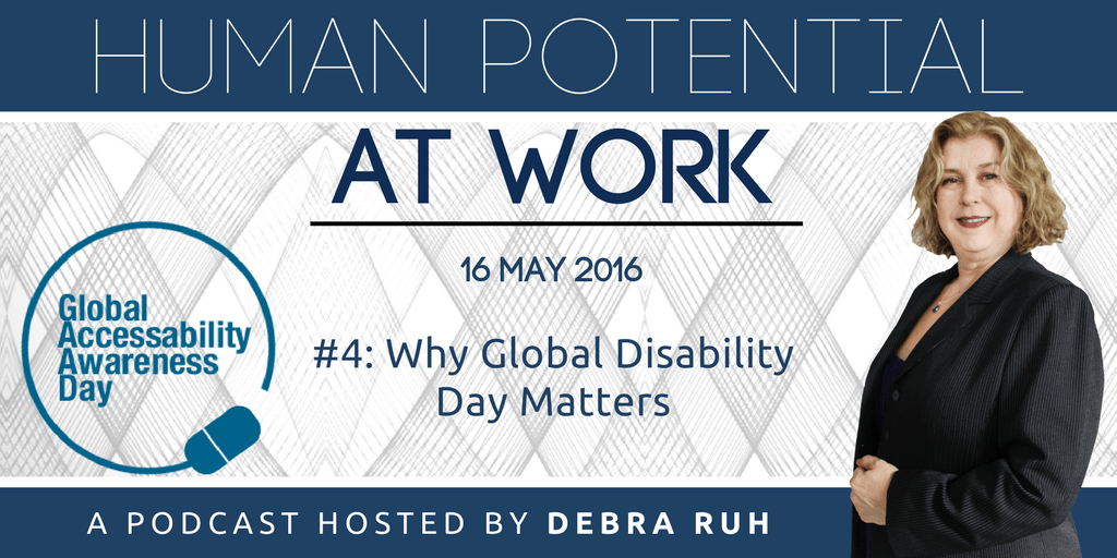 Episode Flyer for #4: Why Global Disability Day Matters