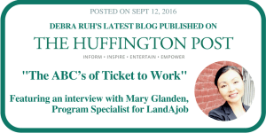 ABCs of ticket to work. The Huffington Post