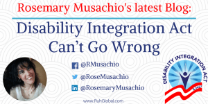 Disability Integration Act Can´t Go Wrong
