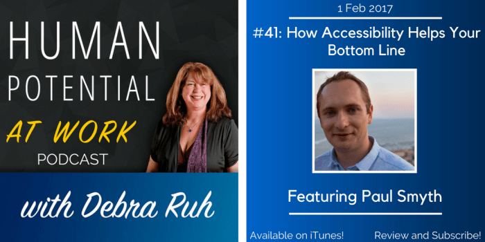 Image of Episode Flyer for EP #41: How Accessibility Helps Your Bottom Line