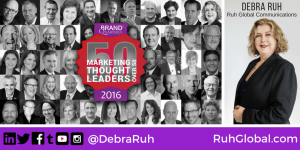 50 Marketing Thought Leaders Banner.