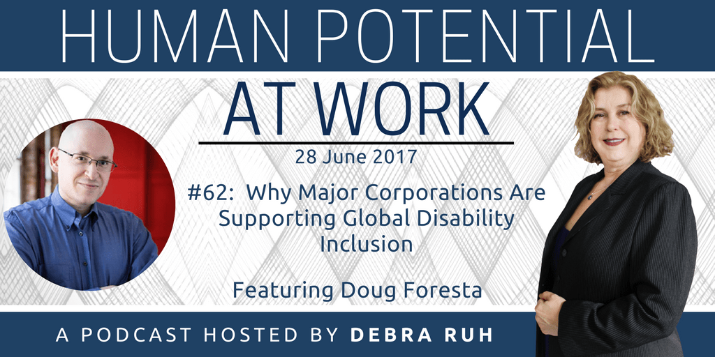 Episode Flyer for #62: Why Major Corporations Are Supporting Global Disability Inclusion