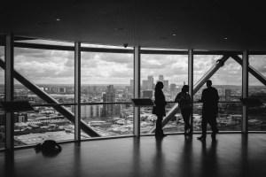 Meeting in skyscraper.