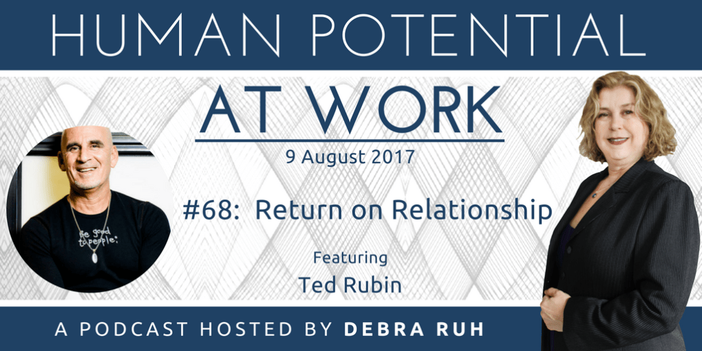 Episode Flyer for #68: Return on Relationship