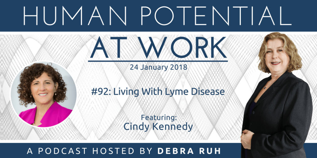 Episode Flyer for #90: Living with Lyme Disease