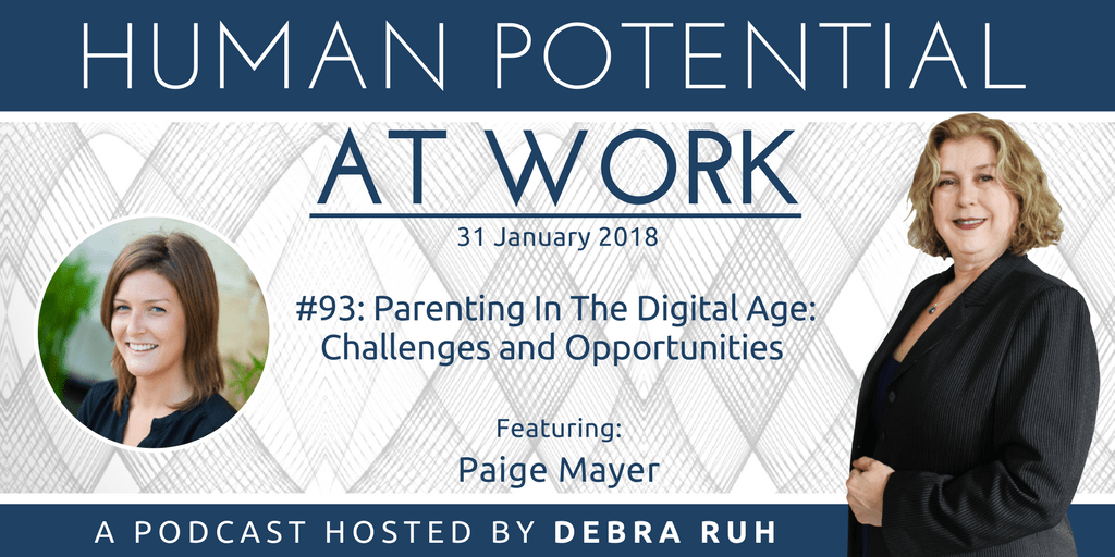 Flyer for Episode #93: Parenting In The Digital Age: Challenges and Opportunities