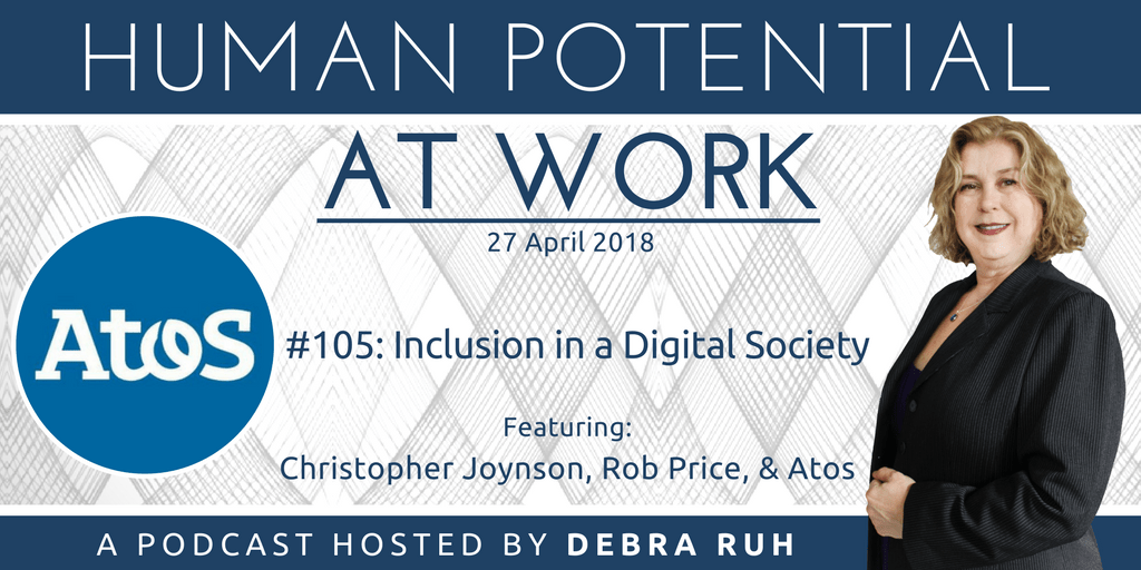 Flyer for #105: Inclusion in a Digital Society