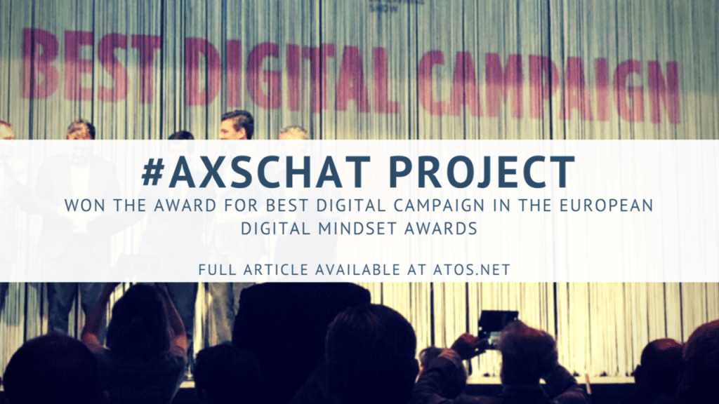 #AXSchat Project wins Award