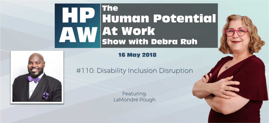 Episode Flyer for #110 Disability Inclusion Disruption