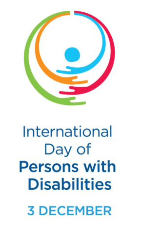 International Day of Persons With Disabilities 3 December.