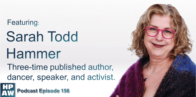 Episode Flyer for #156 Featuring Sarah Todd Hammer