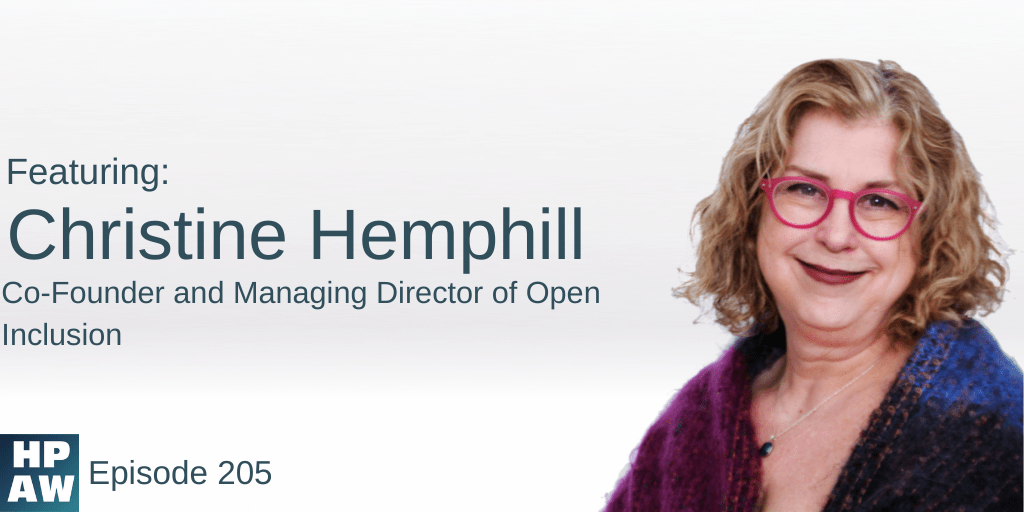Christine Hemphill Co-Founder and Managing Director of Open Inclusion