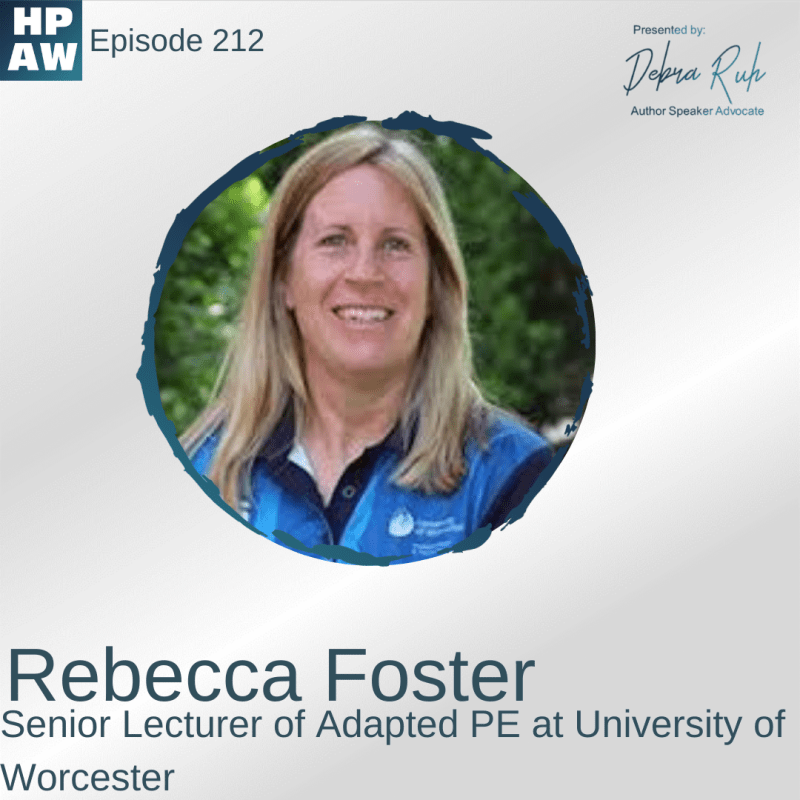 Rebecca Foster Senior Lecturer of Adapted PE at University of Worcester