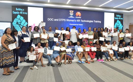 DOC AND DTPS WOMEN'S 4IR TECHNOLOGIES TRAINING