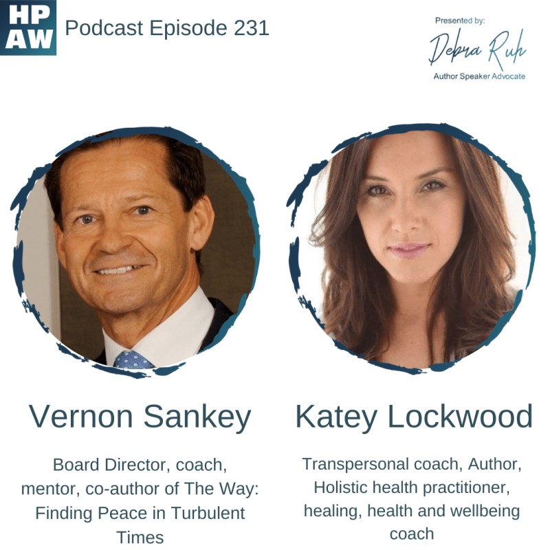 Vernon Sankey & Katey Lockwood authors of The Way: Finding Peace in Turbulent Times