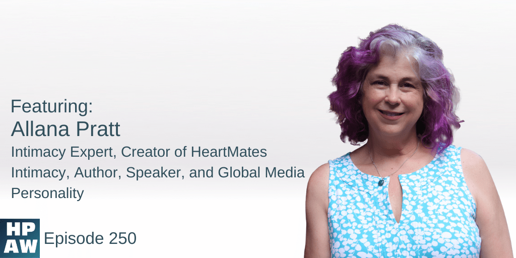 Allana Pratt Intimacy Expert, Creator of HeartMates Intimacy, Author, Speaker, and Global Media Personality