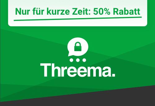 Threema Rabatt