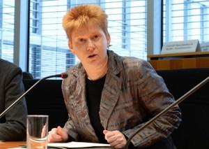 Petra Pau, Die Linke Bundestagsvizepräsidentin, Foto: Copyright Deutscher Bundestag / Achim Melde