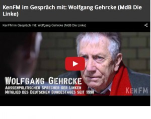 Wolfgang Gehrcke bei KenFM, Screenshot YouTube