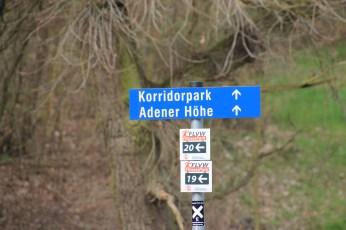 Hier entlang .