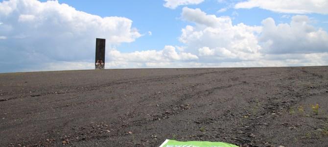 Die Schurenbachhalde mit Mondlandschaft und 360 Grad Panoramablick